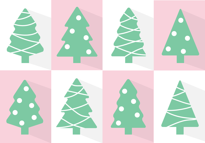 Free Christmas Tree Vector 120028 Welovesolo