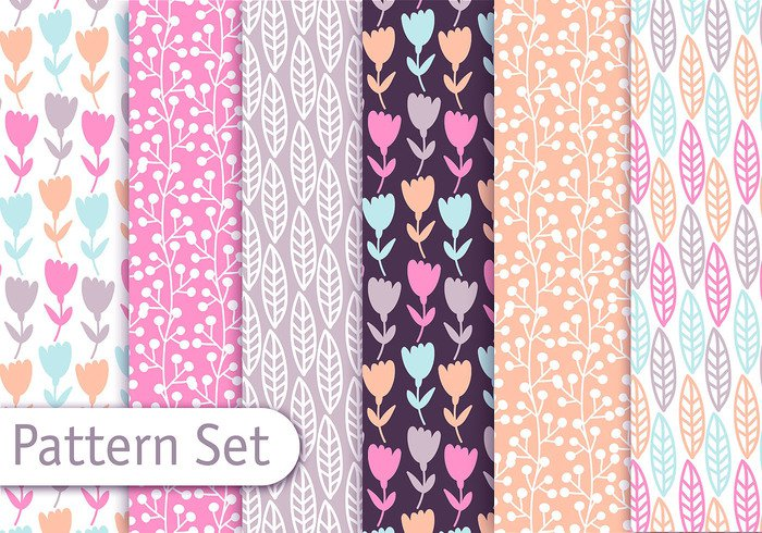 wallpaper tulip trendy Textile Surface stylish style set retro print pattern set pattern pastel paper set nature modern Matching line leaf illustration home graphic girly patterns girly pattern geometric fun floral flora fashion fabric design decorative decoration decor cute colorful background art abstract
