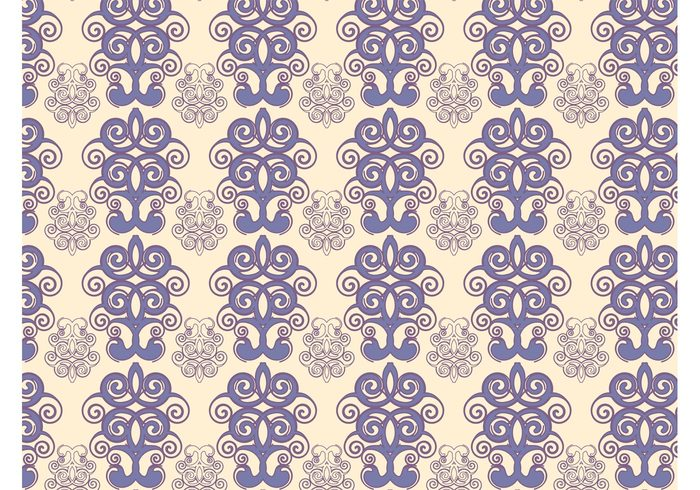 wallpaper vintage swirls seamless pattern retro pattern flowers floral fabric pattern decorations damask background abstract