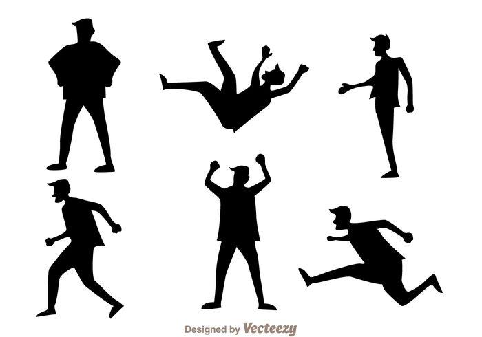walk user silhouette running silhouette run people man icons man icon man male Human cartoon black actoin activity