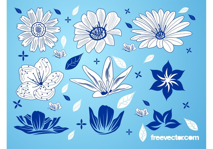 wallpaper Stems spring plants petals nature leaves Flower graphics floral decorations Clothing print blossom bloom