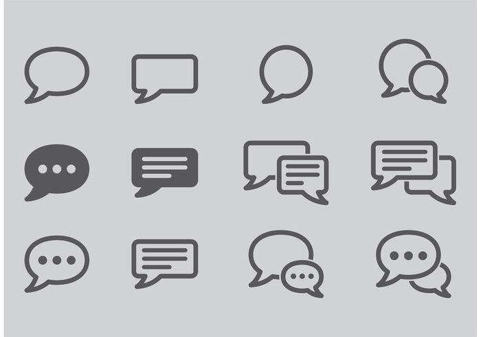write web ui talk symbol speech speak shape pictogram message live chat isolated icon element dialog conversation communication Chatting chat cartoon bubble blank app