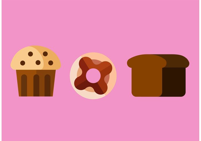Treat sweet food sweet snack muffin glazed food donuts donut dessert delicious Calories cake bakery bake
