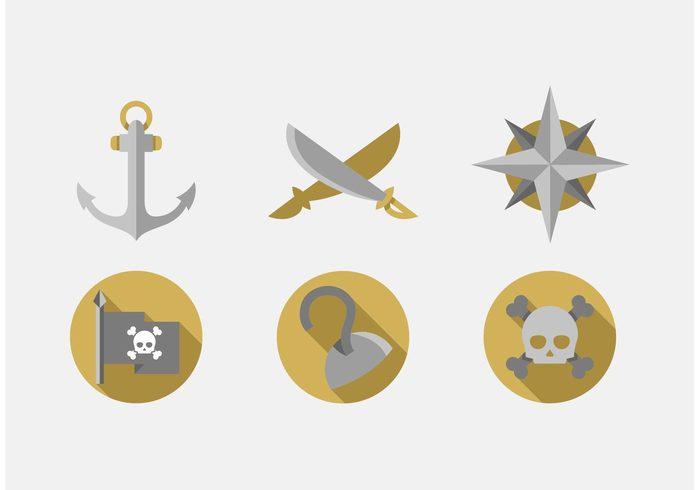 two swords treasure map sword skull seas sea pirate sword pirate hook Pirate flag pirate north hook crossed sword caravela anchor