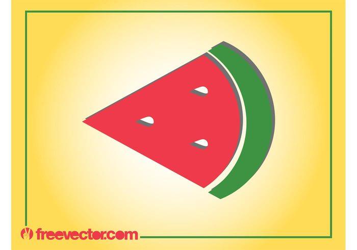 watermelon vitamins summer sticker skin logo icon fruit food eat cartoon