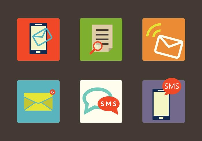 web texting text sms icon sms smart send screen Receive phone mobile message media mail Loupe internet icon flat design envelope email device contact communication chat cell button business icons bubble