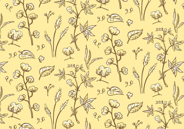 white wallpaper vintage vector Textile Ripe plant picture pattern ornament organic nature natural material illustration harvest growth growing grow graphic garden flower floral field farm fabric environment design decoration cute curve creative cotton plant pattern cotton plant cotton pattern cotton color beautiful background artwork art agriculture