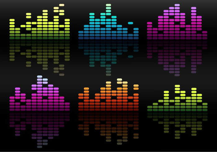 Waveform wave voice track technology stereo spectrum Soundtrack sound bars sound Recorder record musical music mixer meter listen light graphic glow frequency equipment equalizer electronic display disco digital concept color club blue black bar background audio analyzer amplifier abstract