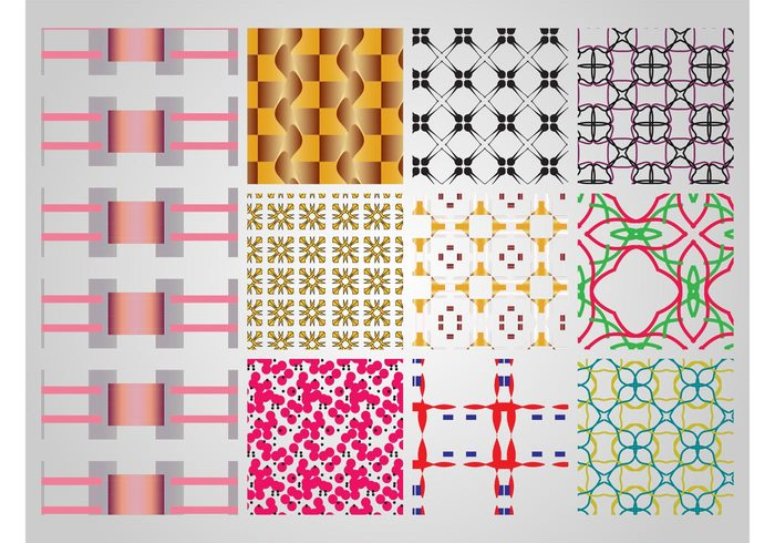 wallpapers swatches seamless patterns lines Geometry geometric shapes flowers floral Fabric patterns colors colorful Clothing prints Backgrounds abstract