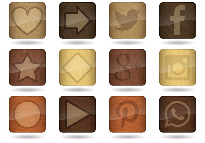 www wooden wood app wood website web vector variation tree texture symbol style square sign shopping shelves set screen recycling push phone parquet office object new nature natural multimedia media laminate label isolated internet interface illustration icon heart carved tree graphic element editable design colorful color collection button brown bright background art application app