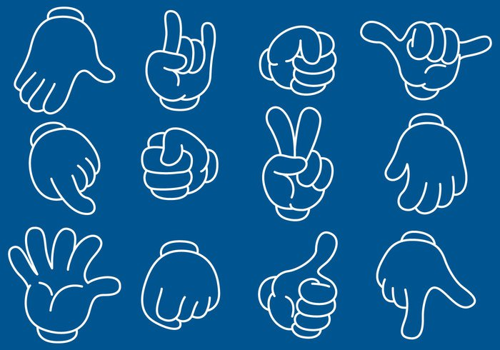 up two thumb Three symbol success Six sign shaka set raised press pointer person palm one OK Middle man male little key isolated internet Idea Human horn holding hand gun Gesturing free four Five fist finger down direction cursor communication comics clip character button business body big background art animated