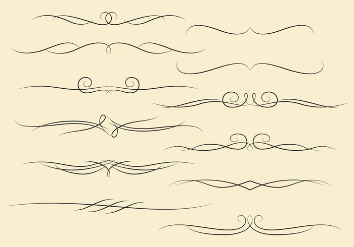wedding vintage twisted traditional symmetry SWIRLY LINES swirl style spiral silhouette scroll retro page ornament old modern line isolated graphic Foliate flourish fancy element elegant drawing detailed design decorative decoration curve curl classical calligraphy calligraphic border baroque art antique