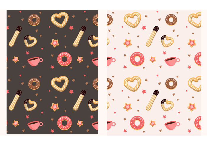 sweet spanish restaurant product pattern jam food pattern donut dessert cup coffee churros pattern churros churro pattern cake