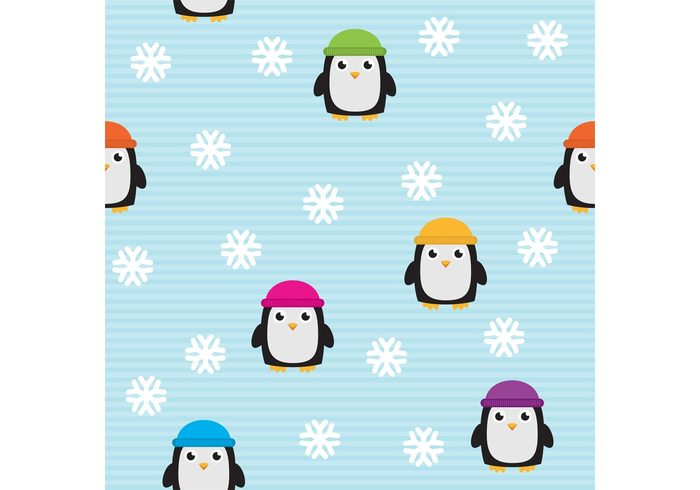 winter pattern winter wallpaper snowflakes snowflake pattern snowflake snow penguin pattern penguin pattern cute cartoon animal pattern animal