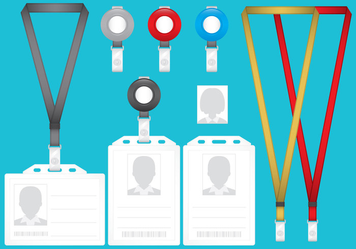 white vector template tag symbol space set security realistic press plastic photography personal pass office object Nobody Neck name lanyard laminated isolated illustration identity identification ID icons holder hanging event empty emblem elements design decorative copyspace concept collection clip clasp cardkey cardholder card business blank badge attachment advertising accessibility 3d