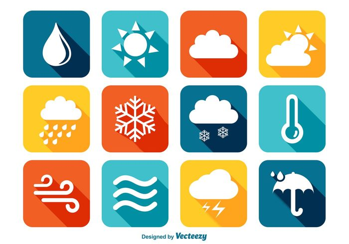 wind web weather icons weather icon weather umbrella tornado Thunderstorm thermometer temperature technology symbol sunny sun storm star snowflake snow sky simple sign season rainy rain nature Meteorology long shadow icons long shadow icons icon set hot holiday forecast flat icons flat element design Concepts color icons cold cloudy cloud climate clear blue application