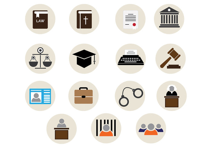 Trail set protection prosecutor prison police pledge Officer mortarboard legistation legal lawyer lawsuit law office icon law office law icon Law Justice Jury judge icon Handcuffs guilty crime courtroom brusiness briefcase attorney