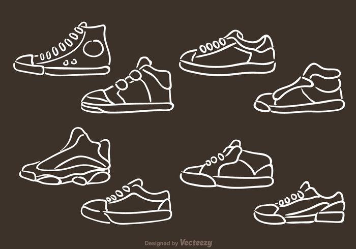 tennis shoes style sport sneakers shoes run mens shoes mens shoe mens fashion man hand-draw footwear football foot fashion basket