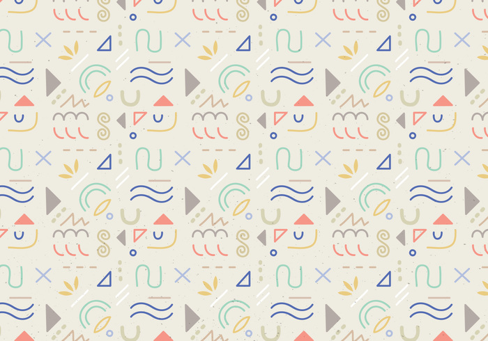 wallpaper shapes seamless random pattern pastel colors ornamental lines decorative shapes decorative background abstract wallpaper abstract shapes abstract