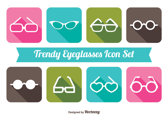 website web wear trendy symbol sunglasses sunglass icon sun summer spectacles silhouette sign shape shadow set pink mark long shadow long illustration icon set icon graphic glasses geometric flat eye diagonal concept circle button blue black badge background app 80s sunglasses