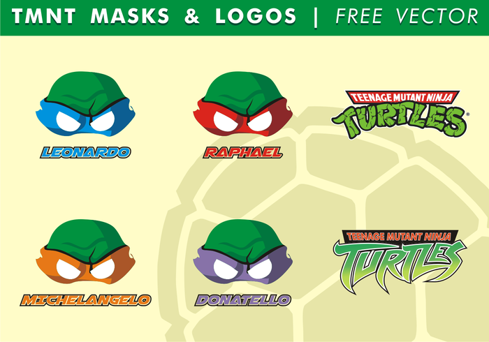 vector Turtles turtle TMNT masks TMNT logos TMNT teenage mutan ninja turtles Teenage serie red purple orange ninja turtles vector ninja turtles free vector ninja turtles ninja Mutant masks & logos mask martial arts logo green free vector free TMNT masks free TMNT logos Fight drawing comic clever turtles blue