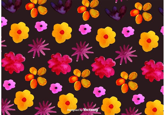 watercolour watercolor flower pattern watercolor flower watercolor texture summer spring season seamless pattern paint ornamental nature natural flower pattern flower floral decorative decoration card bouquet botany botanical blossom blooming beautiful background backdrop