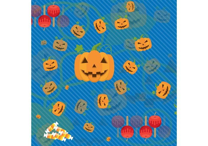 Witchcraft wallpaper spooky seasonal season pumpkin pattern ornament orange October jackolantern jack o' lantern halloween wallpaper halloween background halloween Fear decoration card caramel candy candies background autumn apple