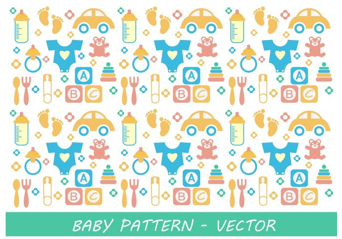 vector toy teddy bear print pin pattern nipple milk kids room foot cute car box bottle baby footprints baby abc