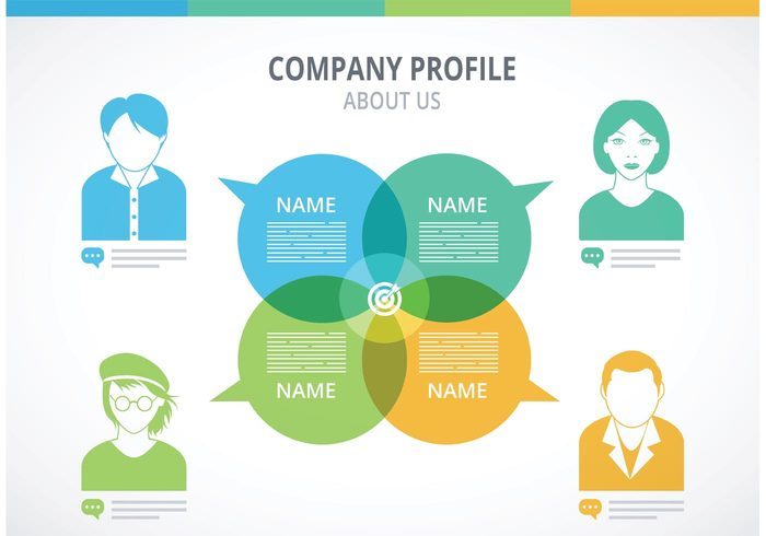 One Page Company Profile Template Free Cover Letter Templates  Free Profile Templates