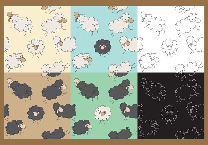 wool wallpaper springtime spring sheep pattern sheep background sheep seamless rural pattern little lamb lamb pattern lamb farm doodle cute black sheep herd black sheep background animal
