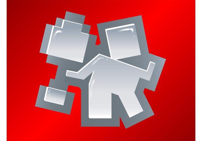 website web technology social networking social sharing platform pixels pixelated online News logo internet information Digg vector 8 bit