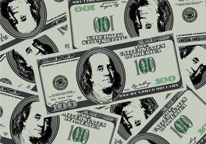 USD money hundred finance fake dollar currency cash bank background american 100 dollar