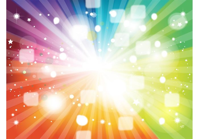 Spectrum vector radiant party joy glowing Free Background festive colorful celebrate background image