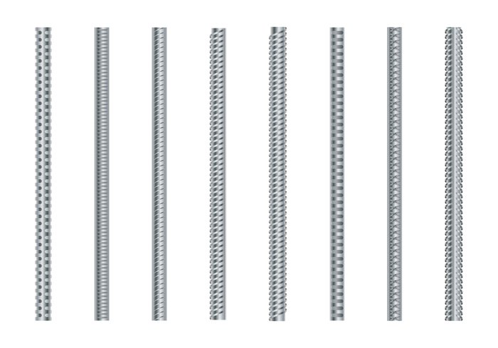 wire white welded vector technology structure strong strength steel stainless square smooth shape set secondary seamless round rough rod Repetition reinforcing reinforcement reinforced reinforce rebar profile primary periodic pattern metallic metal material masonry manufacturing manufacture line lattice isolated iron industry illustration icon hot-rolled gray graphic frame four form fittings falcated falcate Engineering Endless element durable Diameter Detail design construction concrete collection circular carbon building bar background backdrop armature abstract