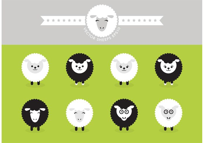 Zoo young white vector Tender template stare spring sheep isolated sheep Roast nature mammal lamb isolated illustration icon green graphic farming farm environmental drawing Domestic design cute curious cartoon black Biology background art animal agriculture