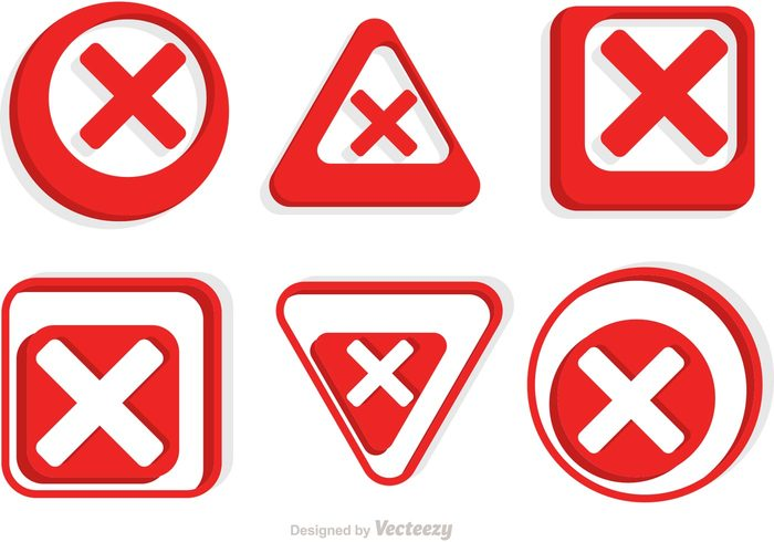 website warning symbol sign round red cancelled question punctuation mark interface information important icon Forbidden error denied delete danger circle cancelled icon cancelled cancel
