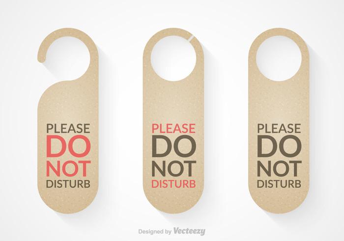 Free do not disturb door hanger vector set 137339 welovesolo free do not disturb door hanger vector set 137339 pronofoot35fo Gallery
