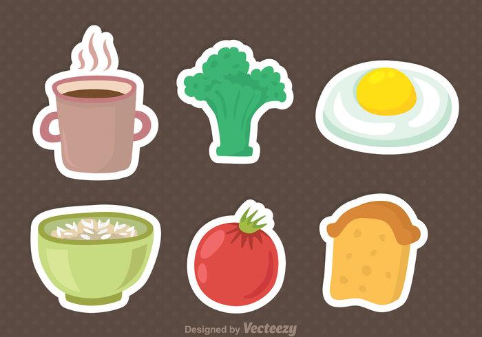 vegetable tomato toast tea oats oat Healthy food egg coffee broccoli breakfast bread
