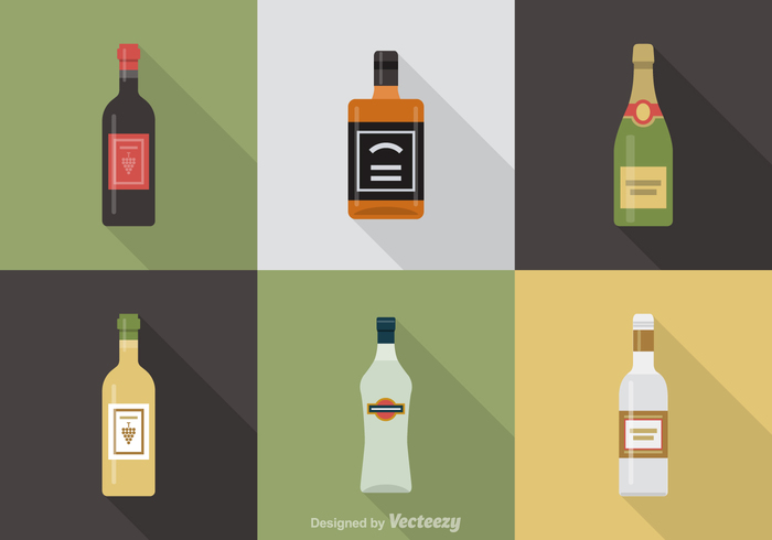 wine white whiskey Vodka vine vector symbol sign set pub painting objects martini liquid label jack daniels isolated illustrations icons icon glass drink cocktail champagne bottle beverage bar art alcohol