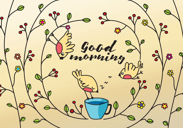 vintage twig summer style spring simple saying romantic retro proverb outline ornate ornament nature naive morning little leaf garden floral element early bird gets the worm early bird early drawing doodle decorative cute colored coffee cartoon branch black birdie bird background art