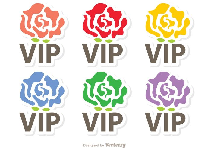 vip icon vip Very important person symbol super royal pass Membership member luxury label important icon gold glamour glamorous flower icon exclusive celebrity casino business approval