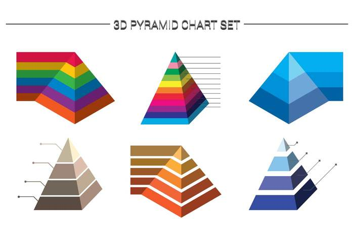 visual vector tower sigh shite shape scheme pyramid chart pyramid progress process prism Part model level layered layer isolated information infographic Idea icon hierarchy graph element drawing colorful color chart business bright 3d .