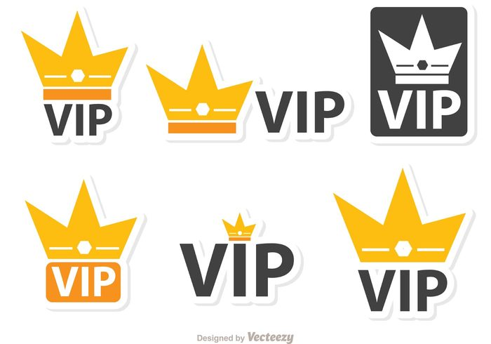 vip icon VIP crown vip success royal rich Membership member luxury icon golden crown golden gold crown gold glamour glamorous exclusive crown label crown badge crown celebrity casino