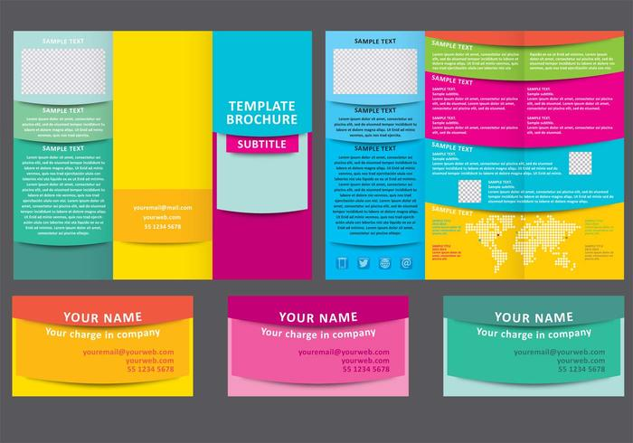 visual tri fold brochure theme text template space sheet service promotion presentation portfolio plan paperback paper office marketing magazine layout information empty document design cover corporate content company card business brochure booklet advertise