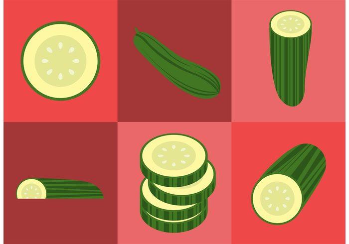 vegetable slices slice salad ingredients healthy food Healthy green cucumber fresh veggies Fresh vegetables fresh food food cucumbers cucumber slices Cucumber cooking
