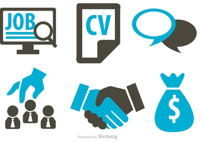 Job Business Concept Icons Vector 138204 Welovesolo