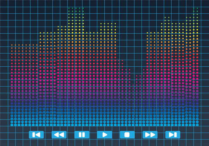 wavy Waveform wave volume voice vibrations tune track technology style Studio stereo spectrum Soundtrack sound bars sound Song rock Recorder record player play pattern musical music mix listen level high graph frequency equalizer entertainment energy electronic editable display disco digital design decorative concept colorful club beats background audio