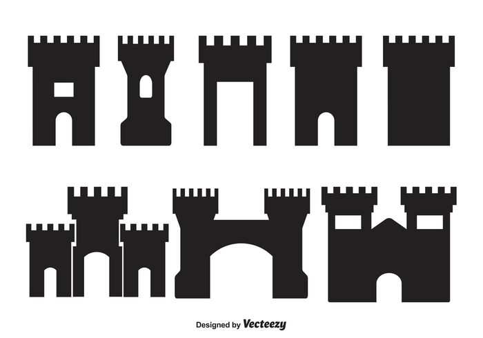 vector shapes tower shapes tower symbol silhouette shapes shape royal retro Place old monument medieval landmark knight kingdom king isolated illustration icon history historical Gothic gate fortress sillhouette fortress shapes Fortress fort silhouette fort shapes fort culture castle button Build black bastille background architecture ancient aged abstract