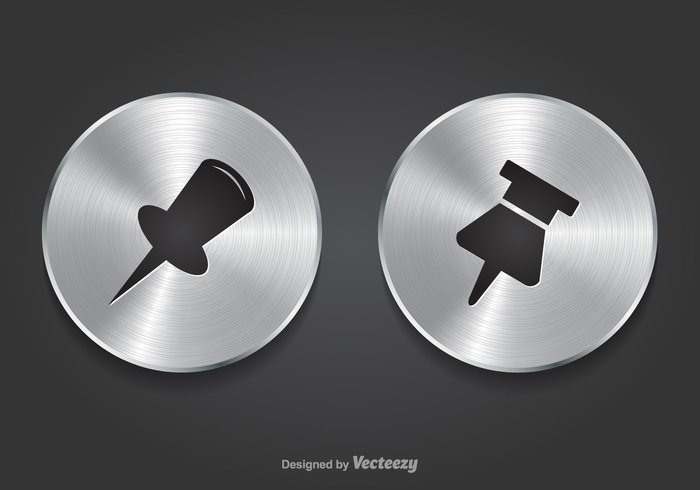 website web vector tool thumbtack thumb tack thumb tag tack symbol Supply stationery sign sharp shadow set school pushpin push plastic pin office object note needle metal memo map location label isolated internet illustration icon graphic glossy fix element design colorful clip circle button business board black background attachment attach