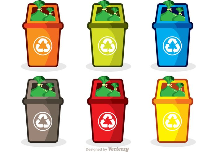 waste trash can trash rubbish bag rubbish reuse refuse recycling recycle pollution plastic paper isolated green garbage food environmental disposal discard container concept clean bin awareness